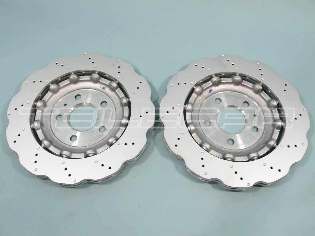 audi rs4 b8 rs5 bremsscheiben ha rear brake discs 2 x 8k0615601g porsche. Black Bedroom Furniture Sets. Home Design Ideas